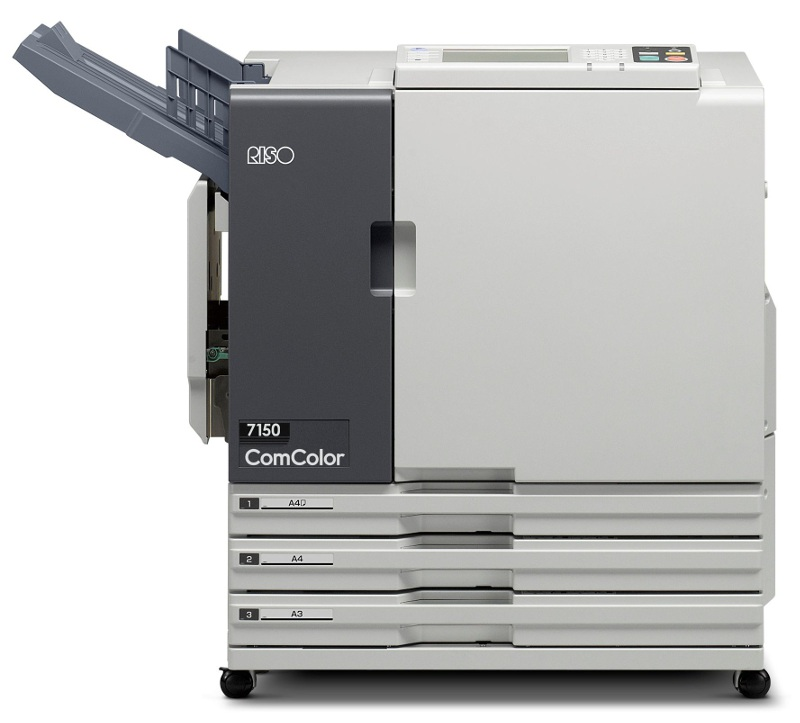 ComColor 7150: Mid range ComColor high speed printer.