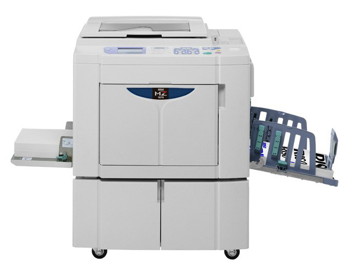 Riso MZ series provides two colour printing in a single pass